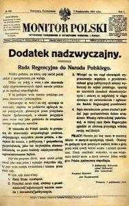 monitor-1918-rada-regencyjna